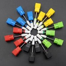 27 Тип керамический сверло для ногтей для электрического сверлильного станка маникюрный аксессуар керамический Фрезерный резак пилочка для ногтей