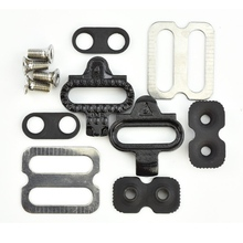 Bicycle Pedals Mountain Cleat Biking MTB Bike Cleat Set Cycling Mountain Bike Bicycle Cleat Set Bike Pedals Part west biking bike bicycle pedals for mtb road mountain cycling pedal mtb cycling pedals bicycle 3 bearings bike accessories