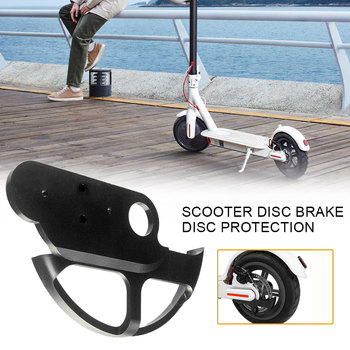 Brake Disc Cover Protection for Xiaomi M365 Pro Mijia M365 Electric Scooter Rear Wheel Braker 110/120cm Disc Guard Parts image