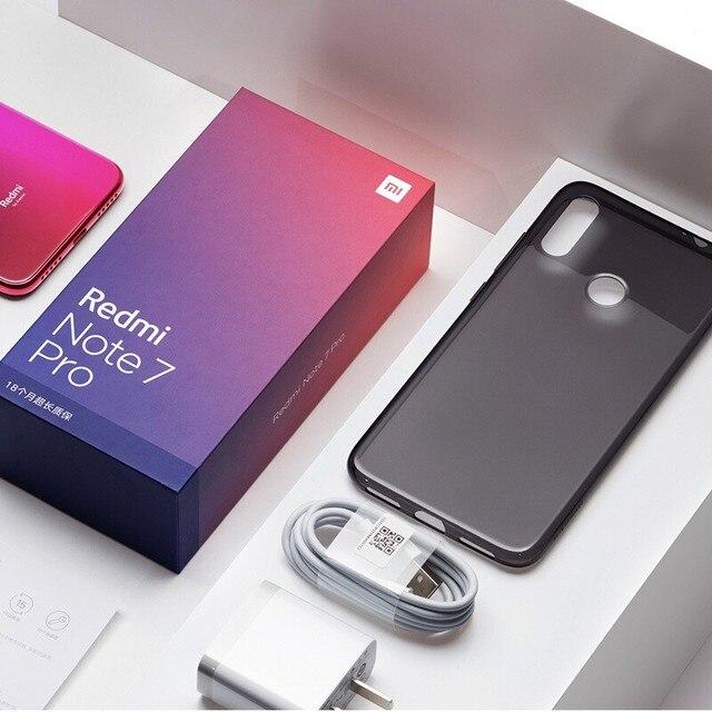 Original Xiaomi Redmi Note 7 Pro 6GB 128GB 48MP IMX 586 Camera Snapdragon 675 Octa Core 6.3'' FHD Screen Mobile Phone 4000mAh 5