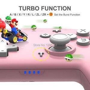 Image 4 - Nowy przełącznik do nintendo bezprzewodowy Gamepad Procon Bluetooth do przełącznika LITE zdalny kontroler typu Joystick do konsoli Nintendoswitch