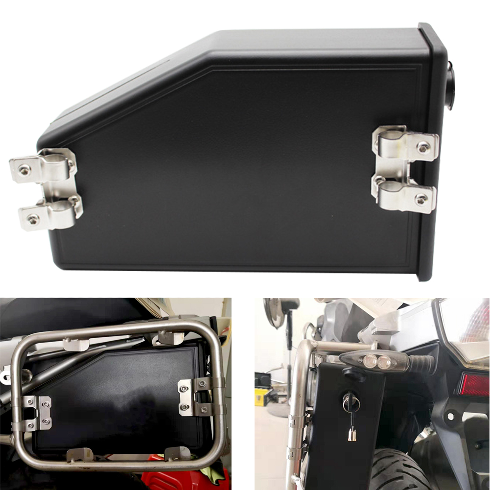 Waterproof <font><b>Motorcycle</b></font> <font><b>Toolbox</b></font> Vehicle Hard Outdoor Mounting Side Bracket Riding Repair Accessories For R1200GS R1250GS image