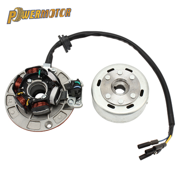 High Speed Motorcycle Rotor Magneto Kits Stator Coil For Yinxiang lying 150CC and 160CC engine Motor Accessories motorcycle ignition magneto stator coil for kawasaki ex250 ninja 250r 2008 2012 magneto engine stator generator coil accessories