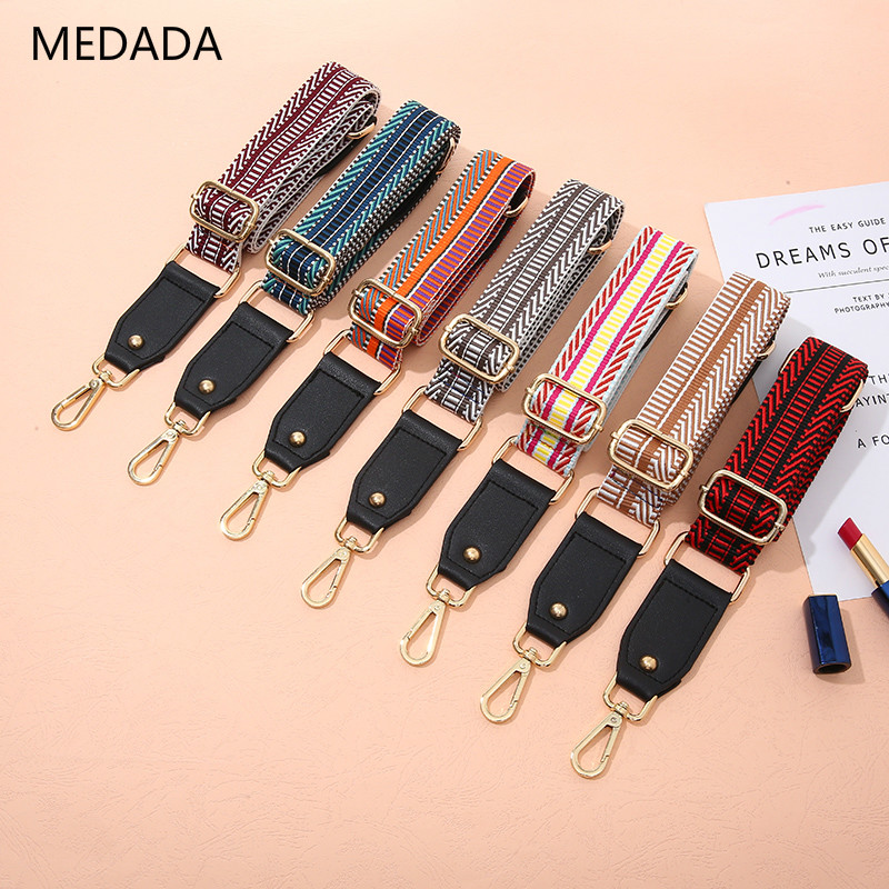 MEDADA new single shoulder inclined Strap Ladies Bag Shoulder Strap fittings wide shoulder strap adjustable length