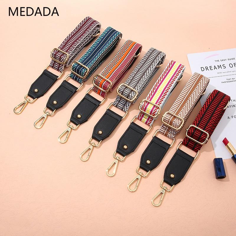 MEDADA New Single Shoulder Inclined Strap Ladies Bag Shoulder Strap Fittings Wide Shoulder Strap Adjustable Length