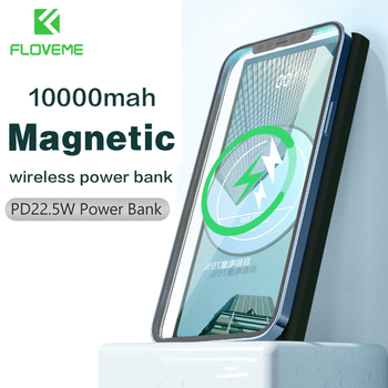 FLOVEME PD22.5W Power Bank 1000mAh Magnetic Powerbank Wireless Fast Charge External Battery Portable Charger Phone Accessories 1