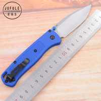 JUFULE OEM 15080/535 G10 handle D2 Blade folding Survival EDC Tool camping hunting outdoor pocket kitchen Fruits Utility knife