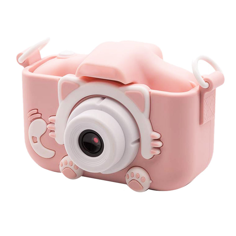 2.0 Inch Screen Kids Camera Mini Digital 12MP Photo Children Camera With 600 MAh Polymer Lithium Battery Toys Gift