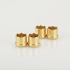 Image 4 - 16 pièces plaqué or RCA bouchon prise de court Circuit connecteur Phono RCA blindage prise jack protéger caches