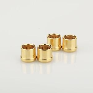 Image 4 - 16Pcs Gold Plated RCA Cap Plug Short Circuit Socket Phono Connector RCA Shielding jack socket protect cover caps