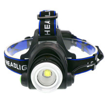 Portable zooming xml-T6 Led Headlamp waterproof ZOOM Fishing headlights Camping Hiking Flashlight With USB Cable camelion led5137 фонарь титан led xml t6 zoom 5 реж 3xlr03 в компл алюм откр блистер