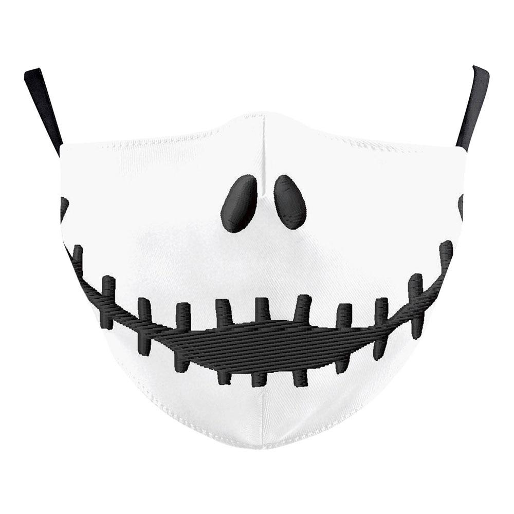 The Nightmare Before Christmas Jack Skellington Face Mask Adult Halloween Cosplay Costume Men Props 1