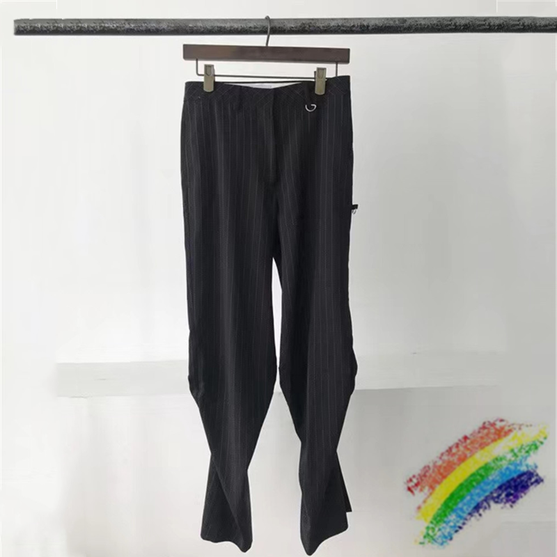 Slim WE11DONE Hourglass Pants Men Women 1:1 High Quality We11done Jogger Trousers