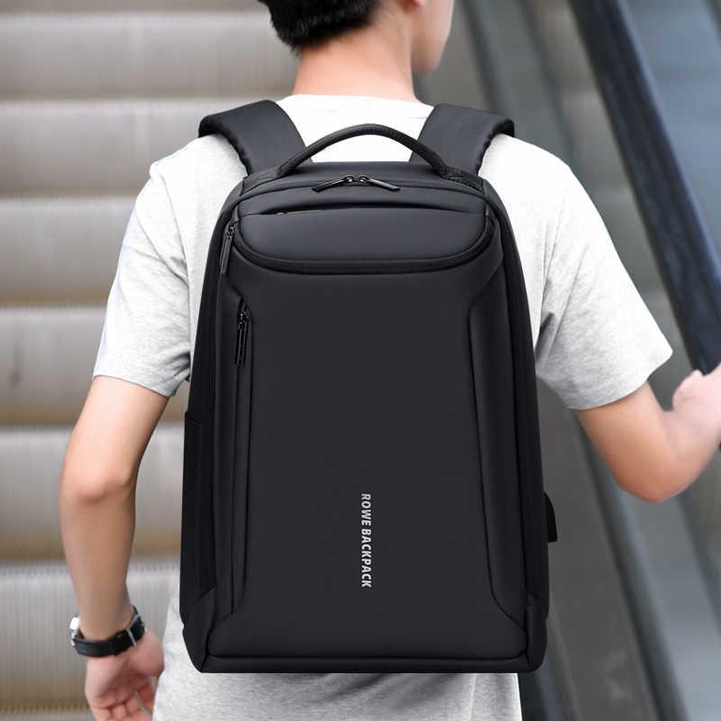 Fenruien Marke Neue Rucksack Wasserdichte Oxford USB lade Rucksäcke 17 Zoll Laptop Tasche Mann Reise Rucksack Große Kapazität