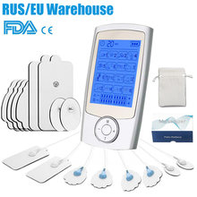 TENS Body Massager Digital Acupuncture EMS Therapy Device Electric Pulse Machine Muscle Stimulator Pain Relief Physiotherapy