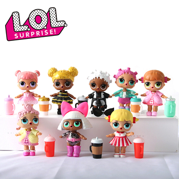 Genuine LOL SURPRISE Dolls 100% Original Lol Dolls Ball Surprise Ball Function Action Figure Toys Random Styles 1pcs Delivery