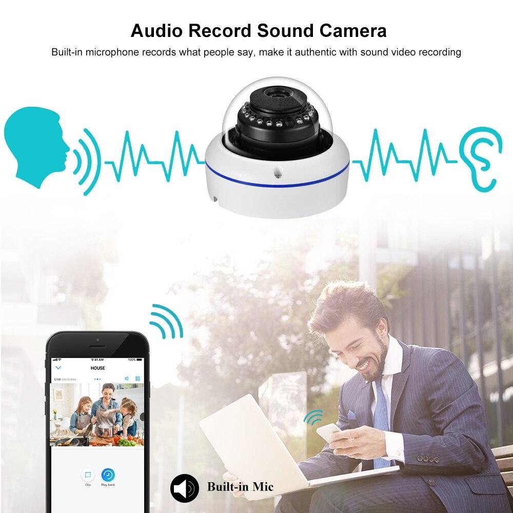 Gadinan H.265AI 5MP 48V POE Sicherheit IP Kamera Gesicht Erkennung CCTV Audio AI Outdoor P2P Video Überwachung für IP system Kit