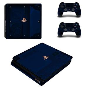 Image 4 - White Days of Play Full Cover Faceplates PS4 Slim Skin Sticker Decal Vinyl for Playstation 4 Console & Controller PS4 Slim Skin
