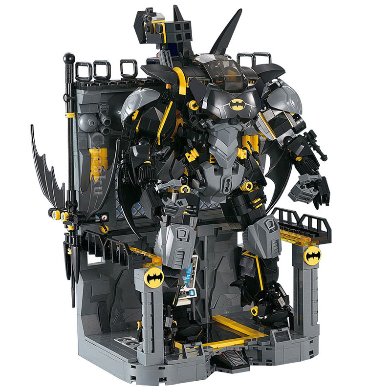 Compatible With Lepining Batman Hellbat Batman Model Building Blocks Boys Birthday Christmas Gifts Kids Toys