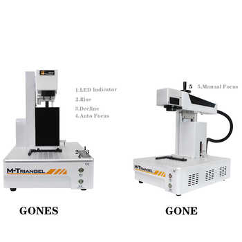 Profession Engraving Machine 20W 30W Fiber Laser Metal Marking Machine Used for Aluminum Gold Silver Brass Engraving Wood Router