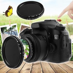 Image 5 - 40.5mm/46mm fader nd variável filtro nd2 ajustável para nd400 ND2 400 densidade neutra para canon nikon sony lente da câmera