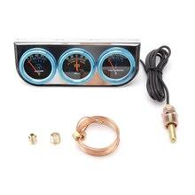 """Автозапчасти измерительный усилитель Универсальный Гидравлический измеритель температуры воды 3 в 1 автомобильный инструмент 12 В """"(52 мм"""