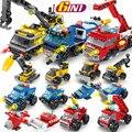 Городской полицейский военный атак команда армейский бронированный боевой автомобиль Playmobil строительные блоки наборы друзей DIY Кирпичи Детские игрушки - фото