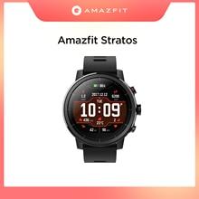 Amazfit-reloj inteligente Stratos, Original, resistente al agua hasta 50M, con Bluetooth, GPS, contador de calorías, para teléfono Android iOS