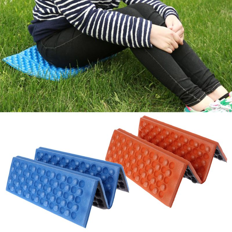 Climbing-Pad Camping-Cushion Folding Outdoor Portable Egg Moisture-Proof Convex XPE