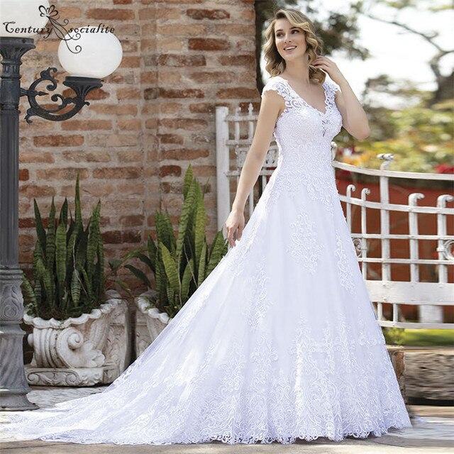Фото vestido de noiva роскошные свадебные платья для женщин большие