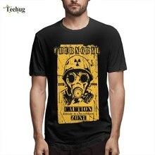 Chernobyl 3.6 Roentgen Not Great Terrible T-Shirt Leisure Man Geek Streetwear 100% Cotton T-shirt For
