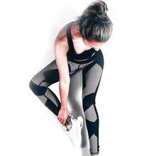 Breathable Women Sport Long Pants Digital Printed Design Lady Tight Running Yoga Sport Trousers Gym Leggings Pants Drop Shipping