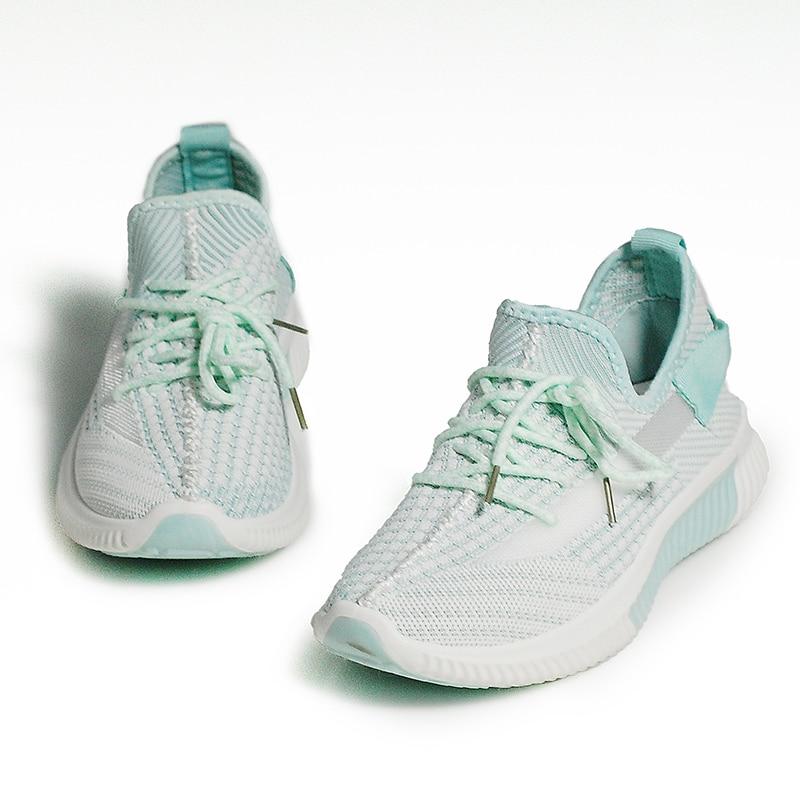 Mujer de malla de vulcanizados DE LA MUJER zapatillas de deporte de las mujeres zapatillas transpirables zapatos de mujer zapatos planos de señora Calzado cómodo Plus tamaño 43|Zapatos vulcanizados de mujer|   - AliExpress