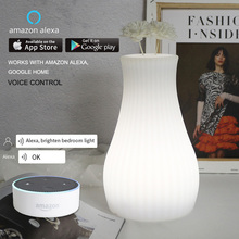 WiFi Smart Table Light Vase Lamp MP APP Control Desk Ambient Wedding Party Romantic RGB Works With Alexa Google Home