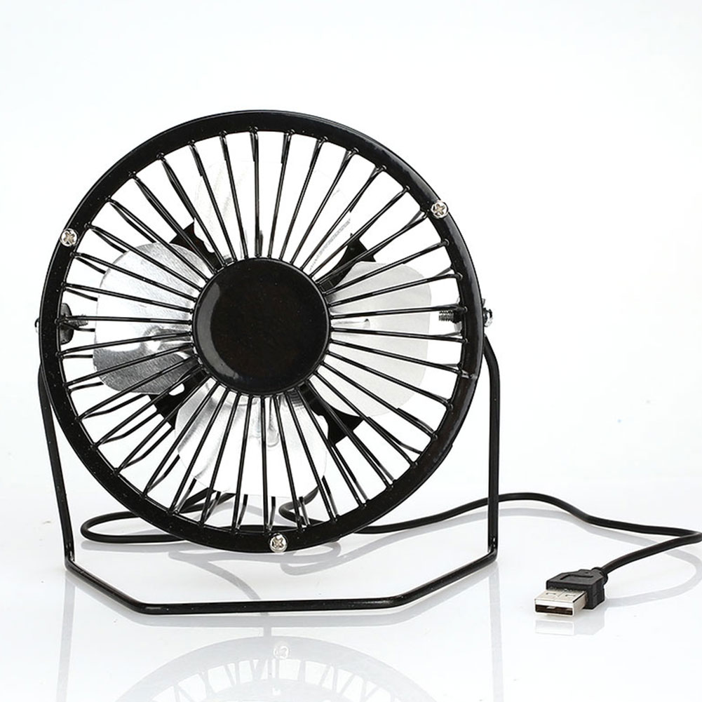 White Portable Mini USB Fan Square USB Rechargeable Mute Home Office Desktop Fan Air Cooler for Household Office