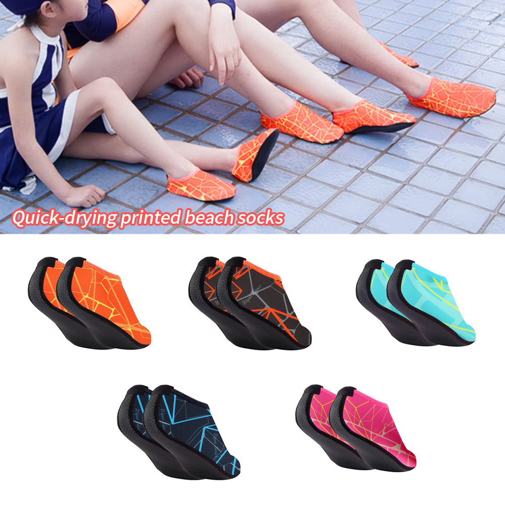 New Sneakers Swimming Shoes Quick Drying Swim Water Beach Shoes Footwear Barefoot Light Weight Aqua Socks For Kids Men Women(China)