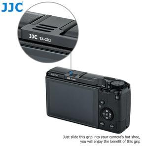 Image 4 - Jjc親指グリップ手リコーgr iii griii GR3用カメラアクセサリーアルミ合金ホットシューカバーホット靴キャップ