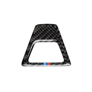 Image 4 - In Fibra di carbonio M Stile Attenzione Luce Pulsante Coperture Della Decorazione Della Decalcomania Auto Interni per BMW 5 Serie G30 G38 528i 530i 2018