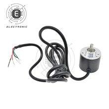 Encoder 500Z 6mm Encoder Hollow Shaft Encoder AB 2‑Phase Mechanical Power Transmission Parts 30KHZ DC5-24V
