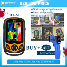 XEAST HT A1 de teléfono móvil con imagen térmica, cámara infrarroja de Resolución de 220x160, herramienta de medición HD, 100%, entrega rápida desde Moscú