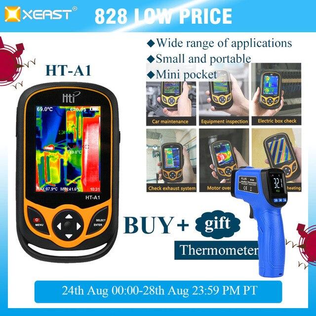Xeast熱画像携帯電話HT A1 220*160 解像度赤外線カメラhdモスクワから測定ツール 100% 高速配信