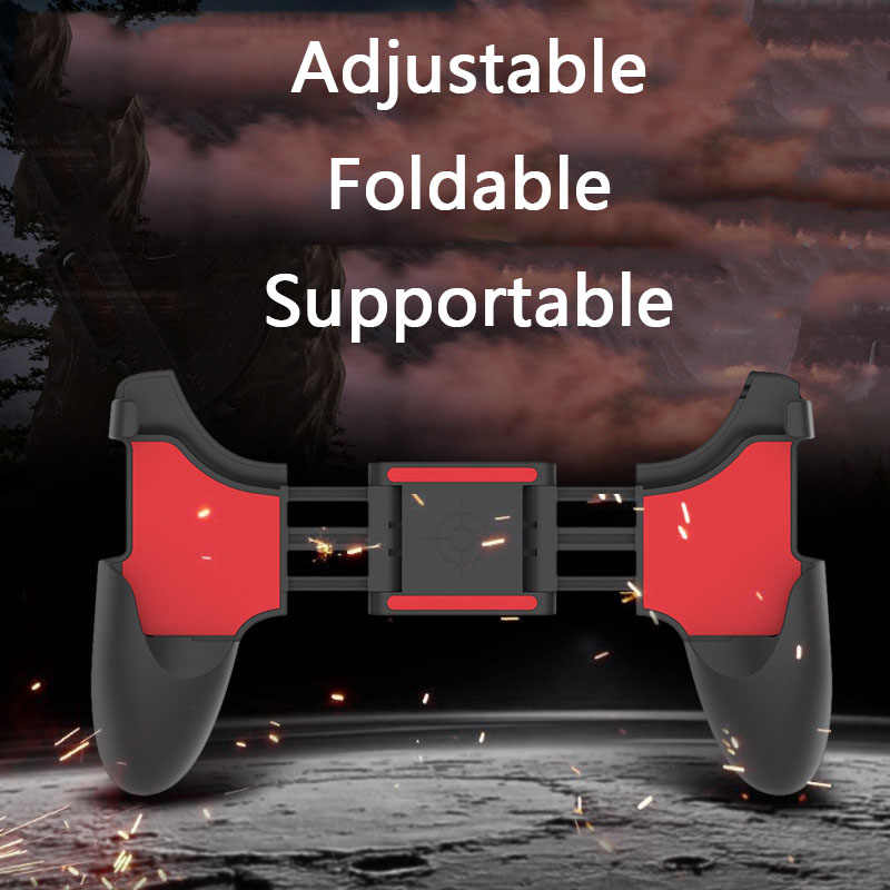 PUBG Mobile Controller di Gioco Gamepad Del Telefono Mobile Grilletto In Metallo Fuoco Libero Gamepad Joystick per Xiaomi Iphone Samsung IOS Android