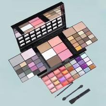 74 Color Eyeshadow Palette Set Makeup Matte Eye Shadow Concealer Makeup Palette Lip Gloss Blush with Makeup Brush Mirror