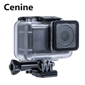 Image 1 - 61M Waterproof Case Set For Dji Osmo Action Accessories Surfing Diving Underwater Housing Box  For Dji Osmo Action Case