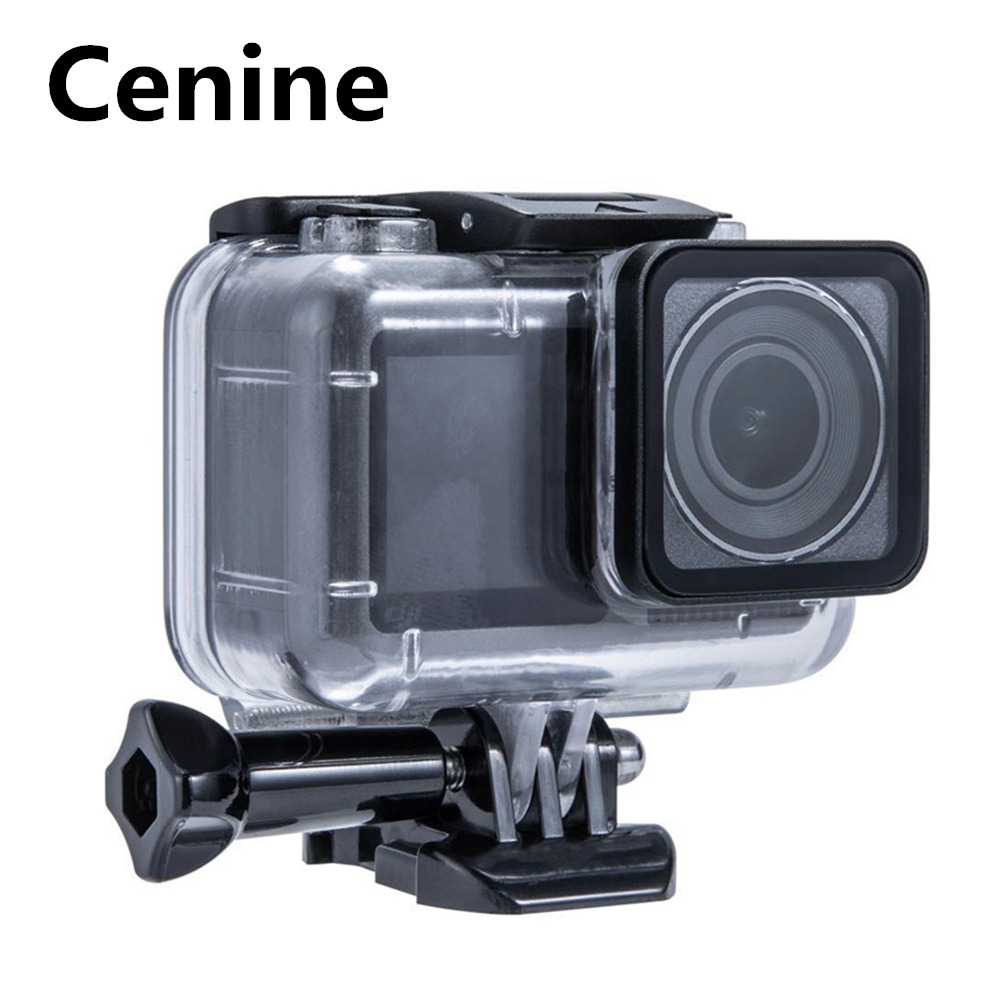 61M Waterproof Case Set For Dji Osmo Action Accessories Underwater Surfing Diving Housing Box  For Dji Osmo Action Case