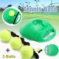 Одиночный тренировочный инструмент для самостоятельного обучения теннису  тренировочный инструмент для тенниса  восстановленные мячи  ин...