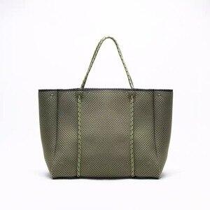 Image 5 - Di lusso Delle Donne di Marca Borsa di Cuoio Hollow Shopping Bag Casual Tote Borse Morbide Femminile Grande sacchetto del Messaggero del Sacchetto di Spalla di Nuovo di Grandi Dimensioni