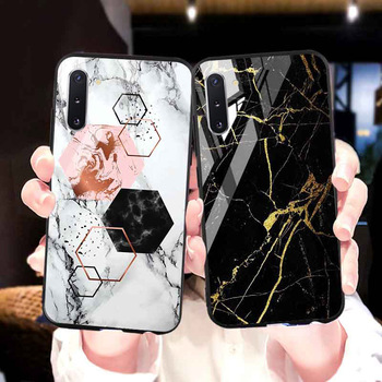 Tempered Glass Case For Samsung Note 10 Lite Case For Samsung Galaxy S20 Ultra S10 Plus S10e S8 S9 M30s M30 M20 M10 8 Covers lavaza counter strike cs and pubg silicone case for samsung s6 edge s7 s8 plus s9 s10 s10e note 8 9 10 m10 m20 m30 m40