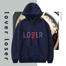 Loser lover hoodie men hip hop cool sweatshirt kpop unisex casual