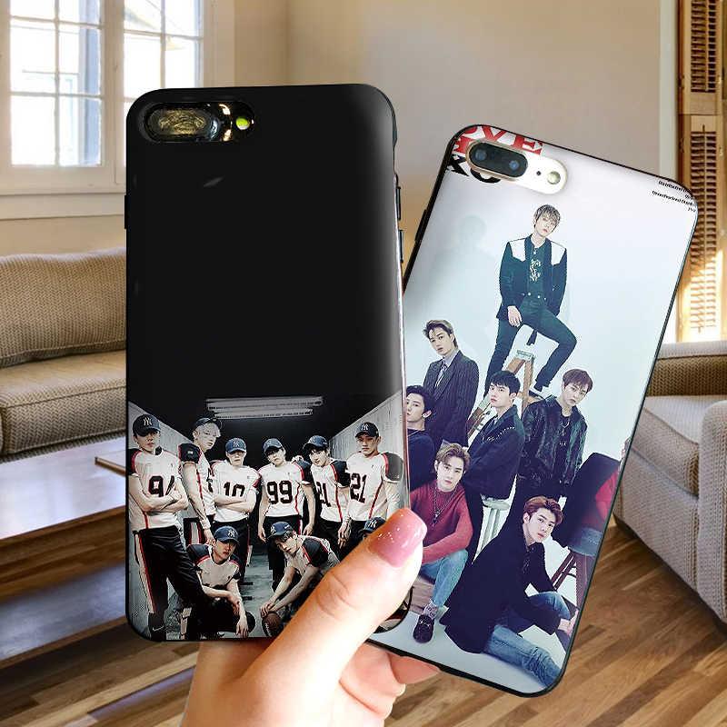 Molle Del Silicone Cassa Del Telefono Per il iPhone XR Per Il Caso di TPU iPhone 5 5SE 6 6S 7 Plus 8 Più XS X Xr XS Max 9 Coque EXO Gioventù gruppo